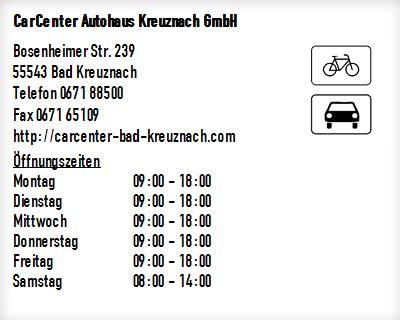 carcenter autohaus kreuznach gmbh  bad kreuznach