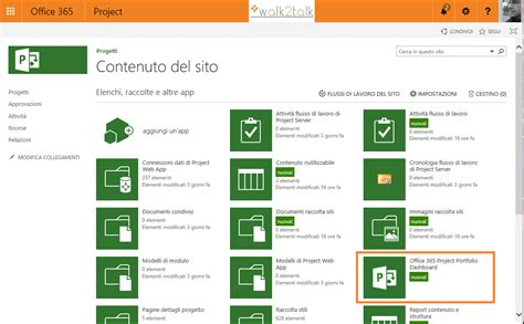 Office 365 Project by Office 365 Project Portfolio Dashboard Walk2talk