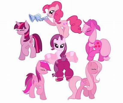 Pink Parade Ponies Mlp Deviantart Bratzoid Request