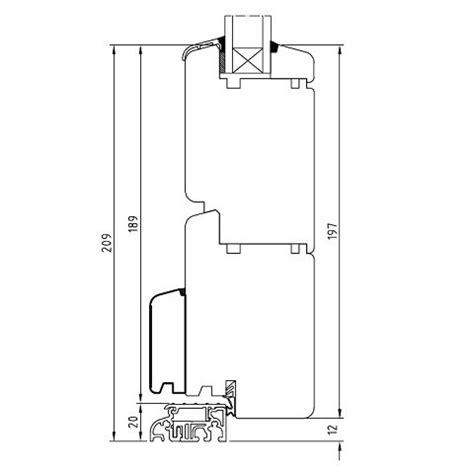 Technische Zeichnung Fenster by Technische Zeichnung Fenster Wies Profil System Prestige