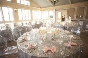 silver wedding a glamorous silver blush wedding every last detail