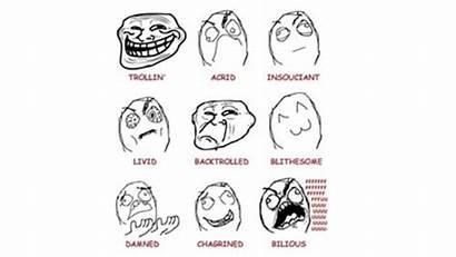 Rage Comics Meme Internet Comic Face Troll