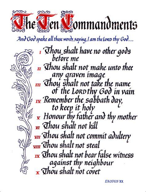 10 Commandments