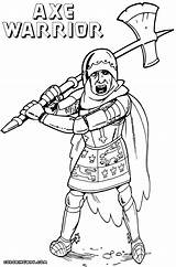 Axe Coloring Pages Colorings Coloringway sketch template