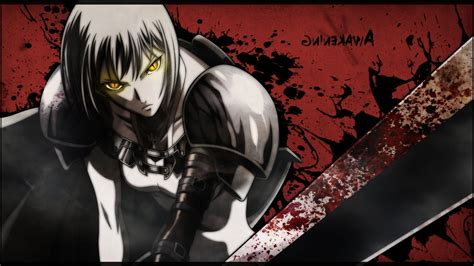 Anime Wallpaper - anime anime claymore anime blood synceed