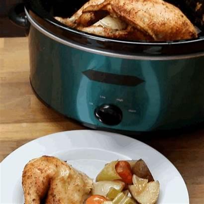 Chicken Pot Crock Slow Cooker Safe Dinner
