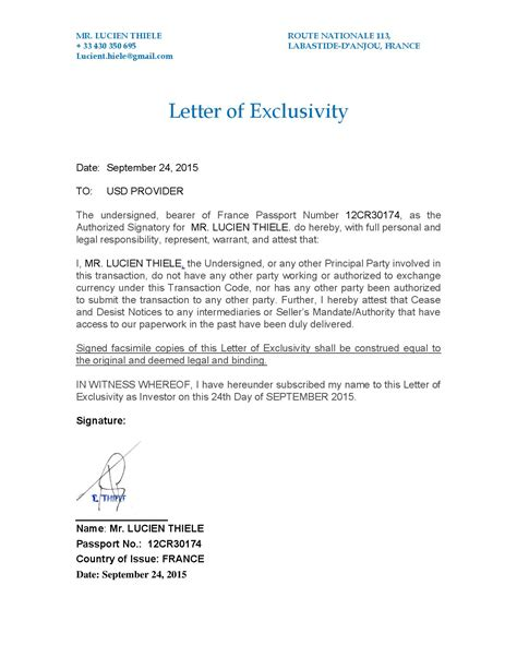 Letter What Is by The Whistleblowers Lucien Thiele 2015 Conspired To
