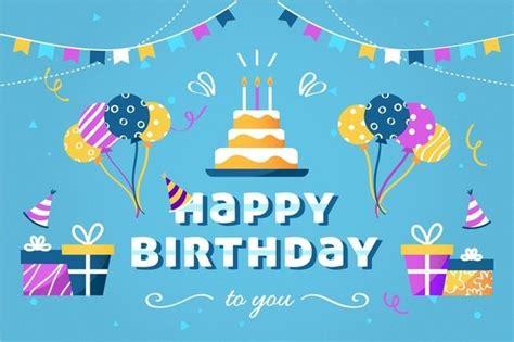 birthday colorful background  vector freepik