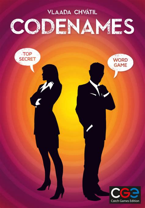 ars cardboard codenames  secret agent party game