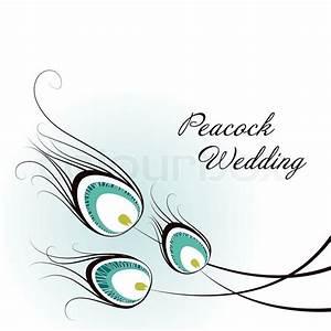 Peacock Card | Stock Vector | Colourbox