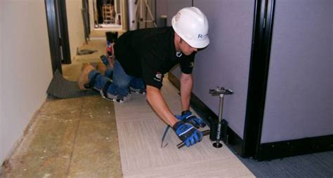 Occupied Office Carpet Replacement   Flooring Resources