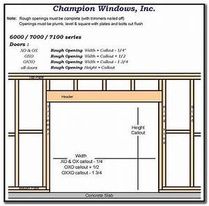 Framing 16 Foot Garage Door Opening Check More At S