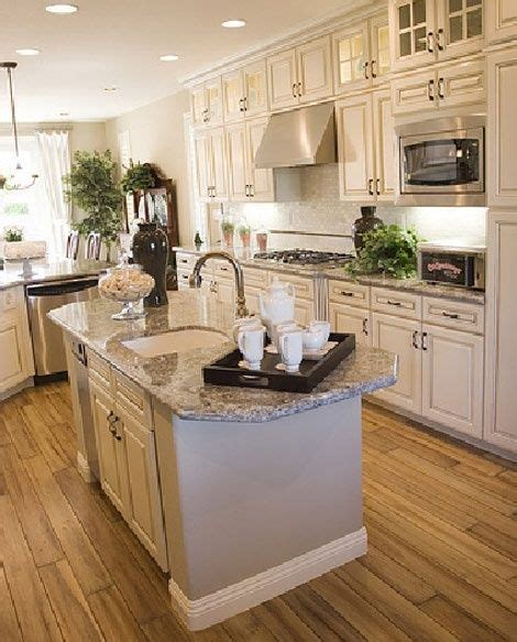 kitchen cabinets with light granite countertops islands kitchen colors and kitchen granite countertops on 9837