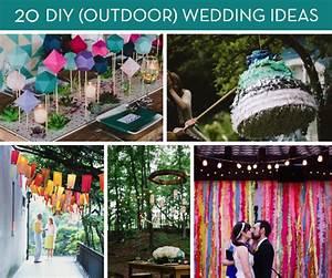 roundup 20 amazing diy outdoor wedding ideas curbly With diy outdoor wedding decoration ideas