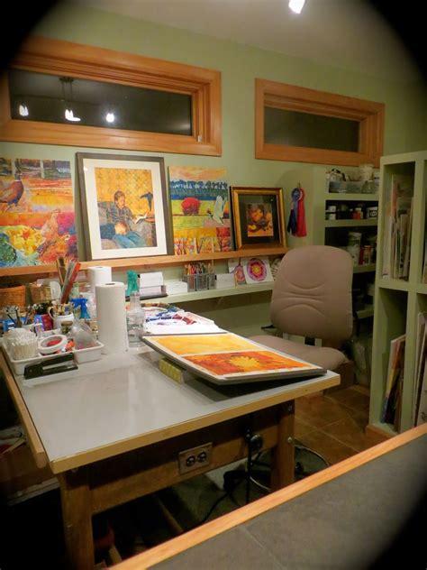 Craft Room Home Studio Setup by Home Studio I Like The Shelves Studios