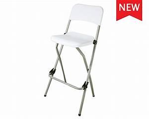 Chaise De Bar Haute : chaise pliante haute bar lot de 2 pcs table chaise pliante bar mobilier pliant e sunny ~ Teatrodelosmanantiales.com Idées de Décoration