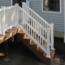 Composite Deck Stair Railing
