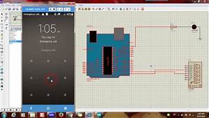 Proteus Simulation For Android Arduino Led Control