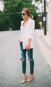 How To Style Your Blazer And Jeans ? Tips For Girls - Just The Design