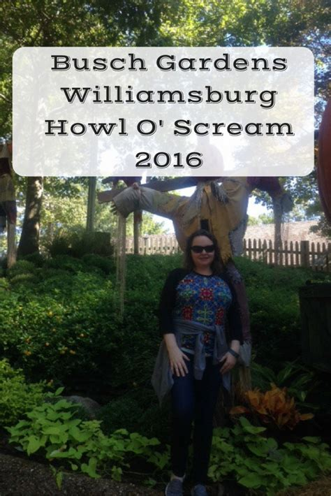 busch gardens howl o scream busch gardens williamsburg howl o scream 2016 the
