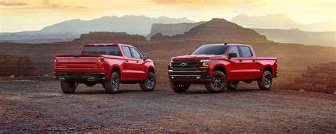 Allnew 2019 Silverado Pickup Truck Chevrolet