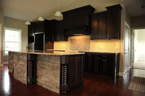 Dark & Dramatic-contemporary-kitchen-st Louis-by