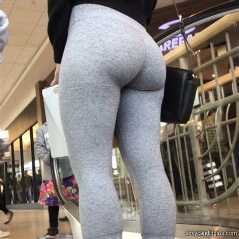 Candid Teen Ass Leggings