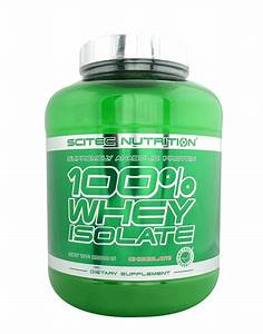 100  Whey Isolate By Scitec Nutrition  2000 Grams