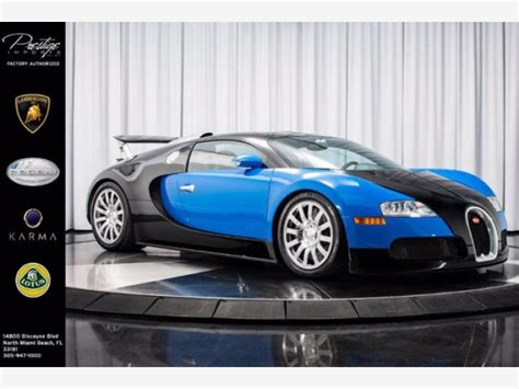 Bugatti has made some of the most coveted cars in history. 2010 Bugatti Veyron for sale near North Miami, Florida 33181 - Classics on Autotrader