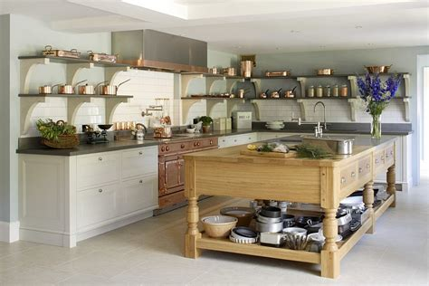 50 Kitchen Islands With Open Shelving