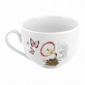 Tasse Petit Déjeuner : tasse assiette tasse petit d jeuner 450 ml symphonie ~ Teatrodelosmanantiales.com Idées de Décoration