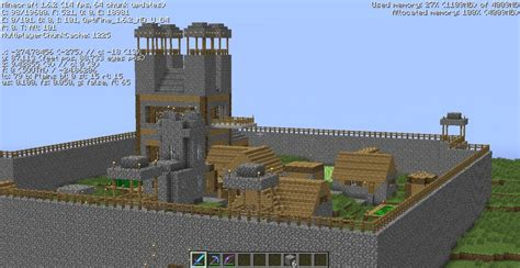 Fortified Village Minecraft Project