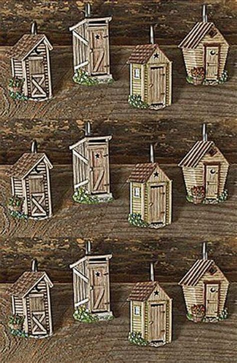 Outhouse Themed Bathroom Accessories by 17 Best Ideas About Outhouse Bathroom On