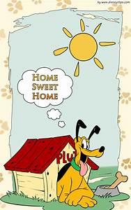Pluto 'Home Sweet Home' Wallpaper