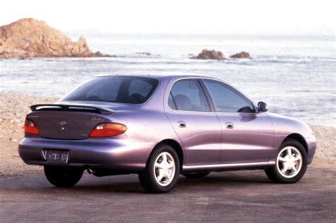 1996 Hyundai Elantra 1996 00 hyundai elantra consumer guide auto