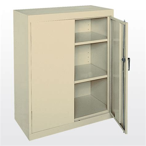with adjustable shelves