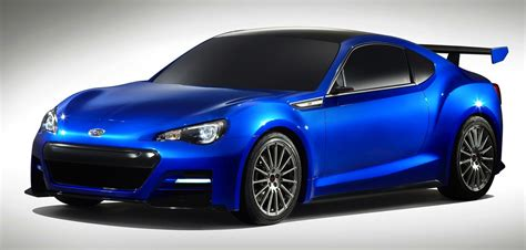 sporty subaru subaru brz sti enhanced japanese sports car teased