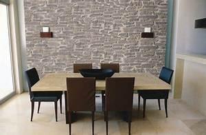 Wandgestaltung Mit Steinoptik : eine naturstein wand ist edel und zeitlos wohnen ~ Markanthonyermac.com Haus und Dekorationen