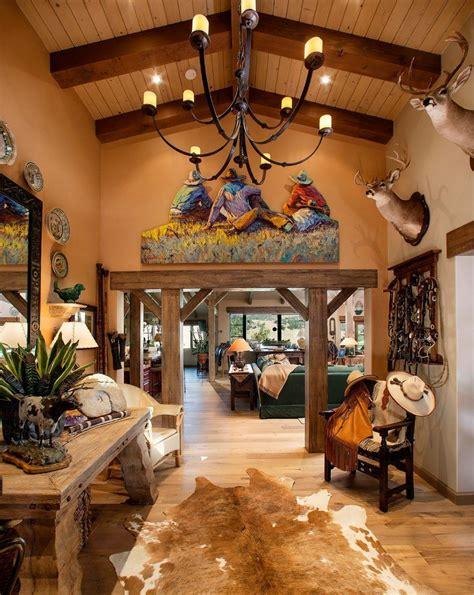 cowboy decoration ideas entry southwestern  hardwood