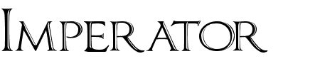 small letters generator imperator bronze smallcaps schriftart imperator 33905