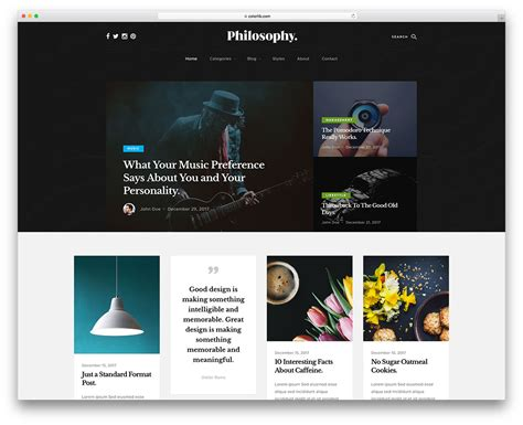 Top One Page Bootstrap Free Templates Responsive by 25 Best Free Bootstrap Blog Templates Using Html5 Css3