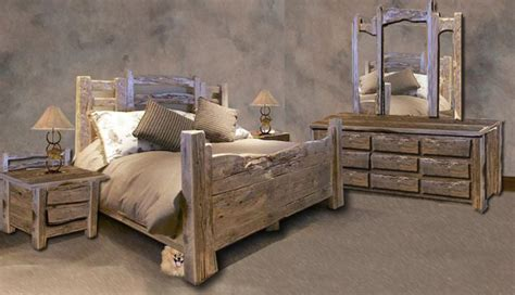 rustic western bedroom set for our ranch rustic style