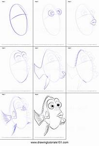 How to Draw Dory from Finding Dory printable step by step ...