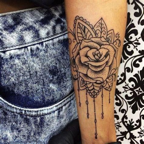 tattoo rose girl piercings  tattoos subtle