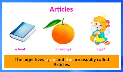 Articles  English Grammar Definition, Types, Examples And Worksheets