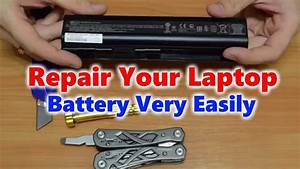 How To Repair Laptop Battery At Home