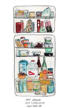 refrigerator cs cake cartoon clip art