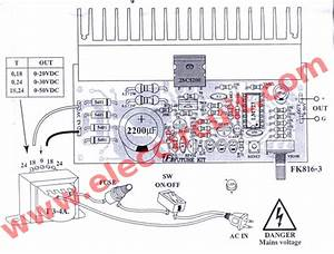 Simple Variable Power Supply Circuit 0
