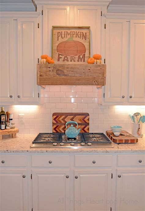 range hood christmas decorating ideas easy diy rustic range hometalk