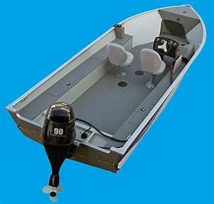 15ft All-welded Aluminum V Bottom Boat